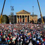 Orban addresses half a million supporters at Fidesz political rally in Heroes' Square