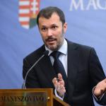 Former government spokesman Giró-Száz is doing better