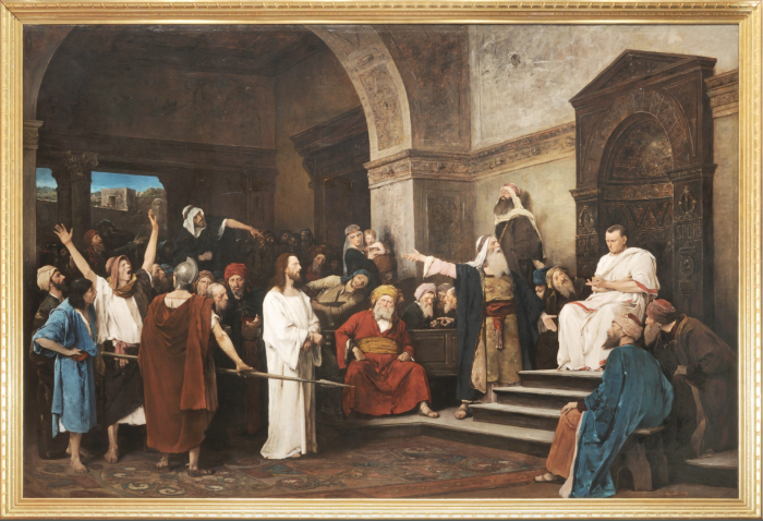 "MNB paid HUF 1.4 billion to acquire Mihály Munkácsy's ""Christ before Pilate"""
