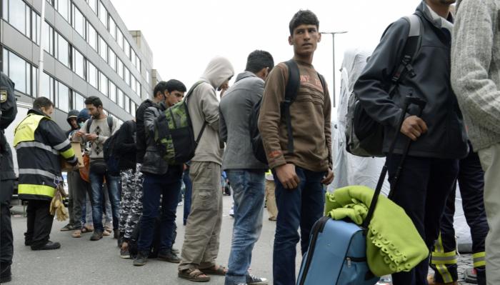 Asylum seekers in Munich  Source: Origo.hu