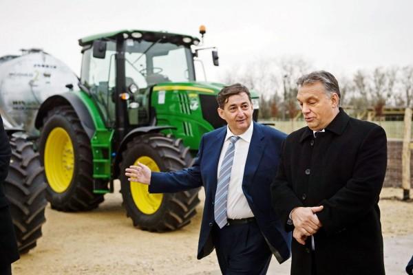 Lőrinc Mészáros and Viktor Orbán