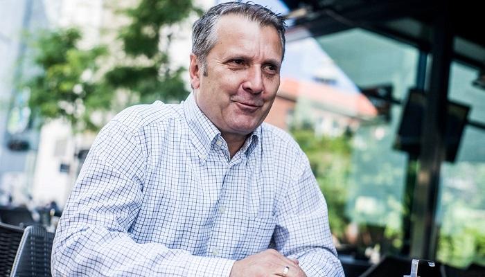 Budapest, 2016. június 30. Molnár Gyula, a Magyar Szocialista Párt (MSZP) új elnöke interjút ad az MTI újságírójának Budapesten 2016. június 29-én. MTI Fotó: Balogh Zoltán