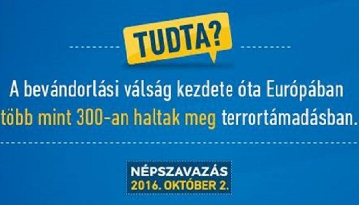 Latest government propaganda campaign links migration to terrorism
