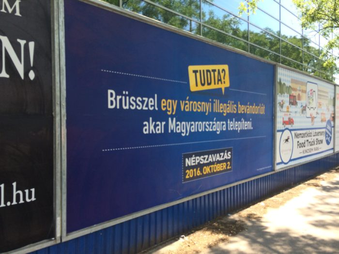 """Did you know? Brussels wants to settle a city's worth of illegal immigrants in Hungary."""
