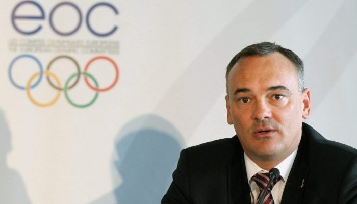 Hungarian Olympic Committee chairman Zsolt Borkai