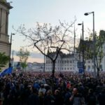 Tens of thousands protest for education freedom in Budapest