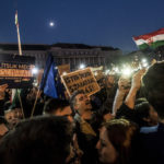 "In Hungary, protesters demand ""democracy, educational freedom, Europe"""