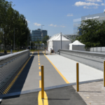 HUF 400 million cyclist bridge built for FINA 2017 closed to cyclists during the championships