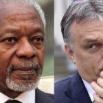 "Kofi Annan ""deeply concerned"" about Hungarian propaganda"
