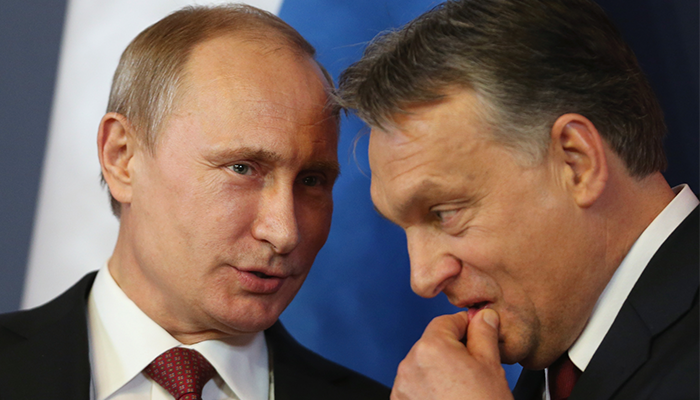 Putin now visits Hungary as often as he does Asian dictatorships