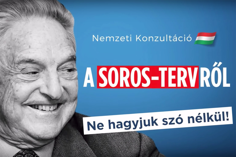 """Soros Plan"" propaganda hits the airwaves"