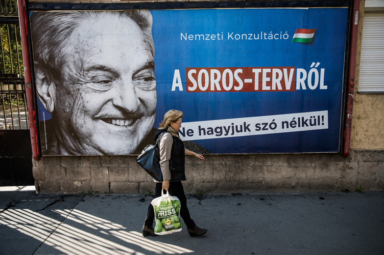 Lőrinc Mészáros's media empire was the main beneficiary of the anti-Soros campaigns of 2017