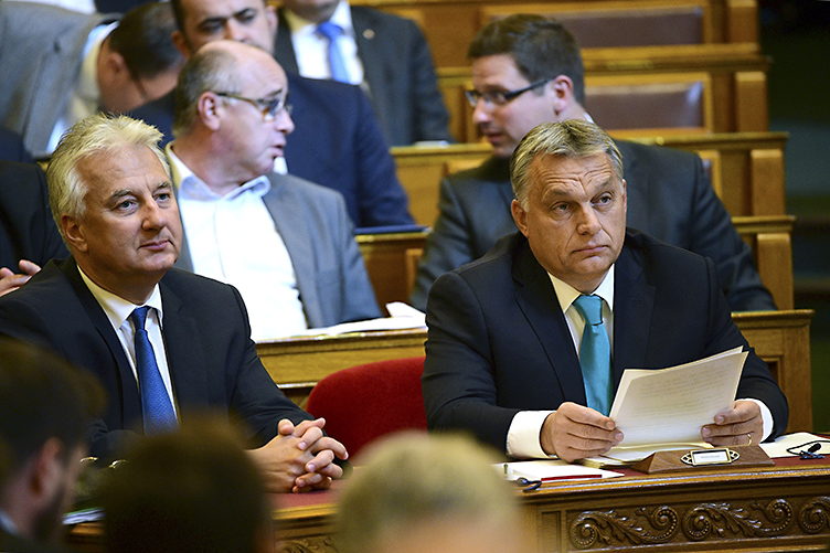 Orbán asks for investigation against Hadházy, responds to direct questions from opposition in Parliament