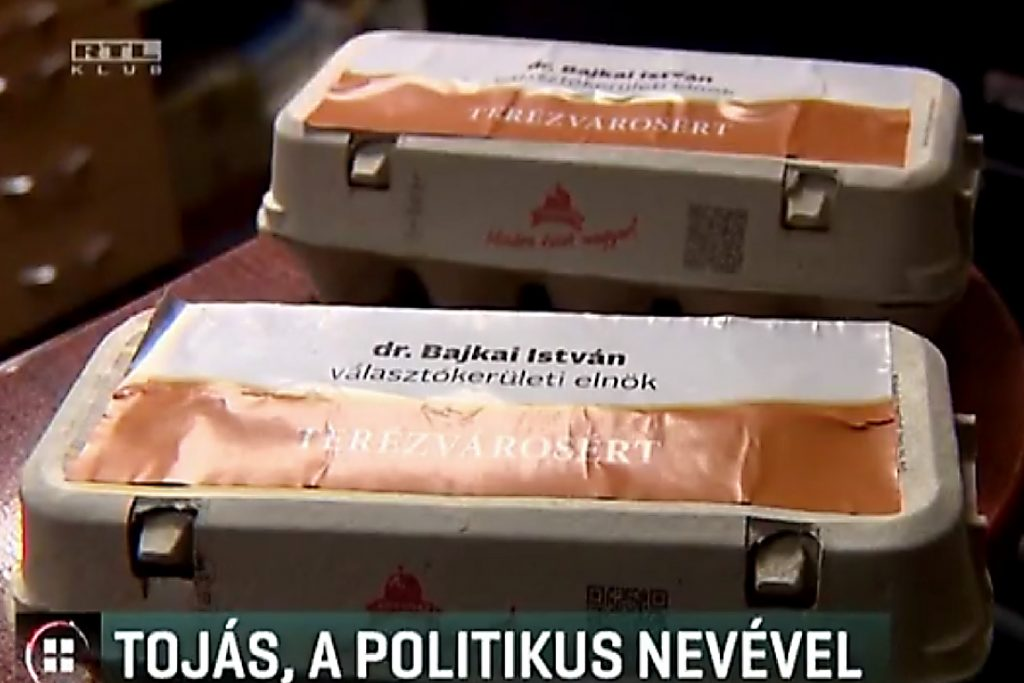 Fidesz politician promoted to the poor through municipally-run food distribution program