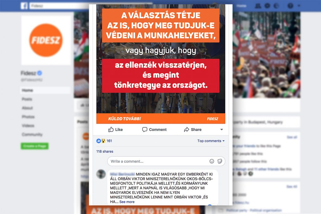 Fidesz runs a national army of social-media activists directly from the party headquarters