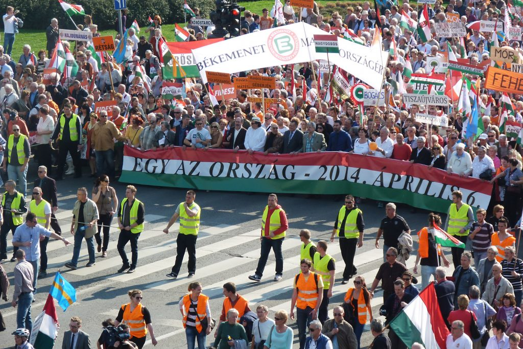 "Fidesz to lower Soros smearing campaign and launch new ""Peace March"""