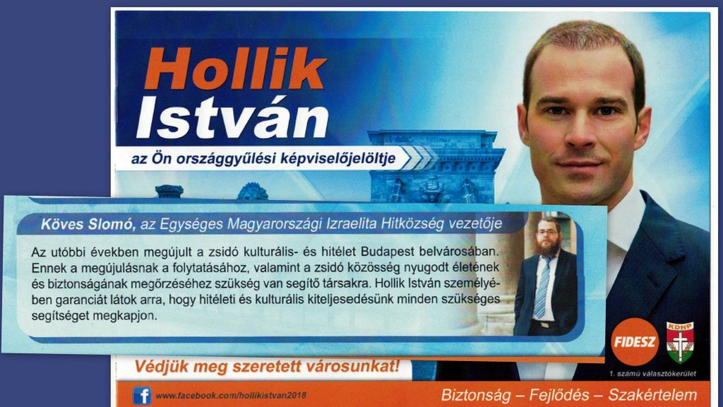 Slomó Köves's endorsement of Fidesz candidate triggers storm of indignation