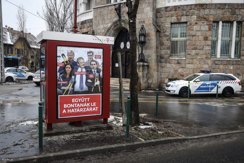 Fidesz billboards inciting hatred removed from Budapest District XIX (Kispest)