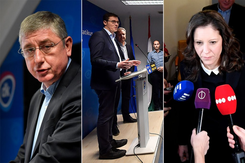 Left-wing parties fail to reach an agreement after first day of cooperation talks