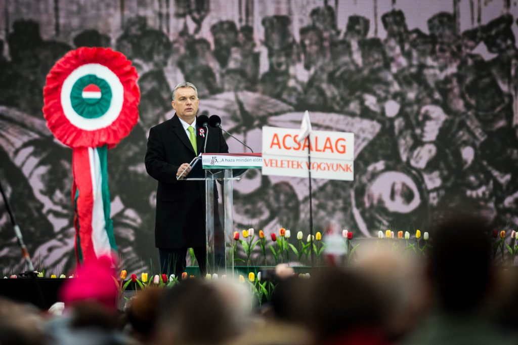 Orbán tilts at windmills, promises delivery of vengeance after general election 1