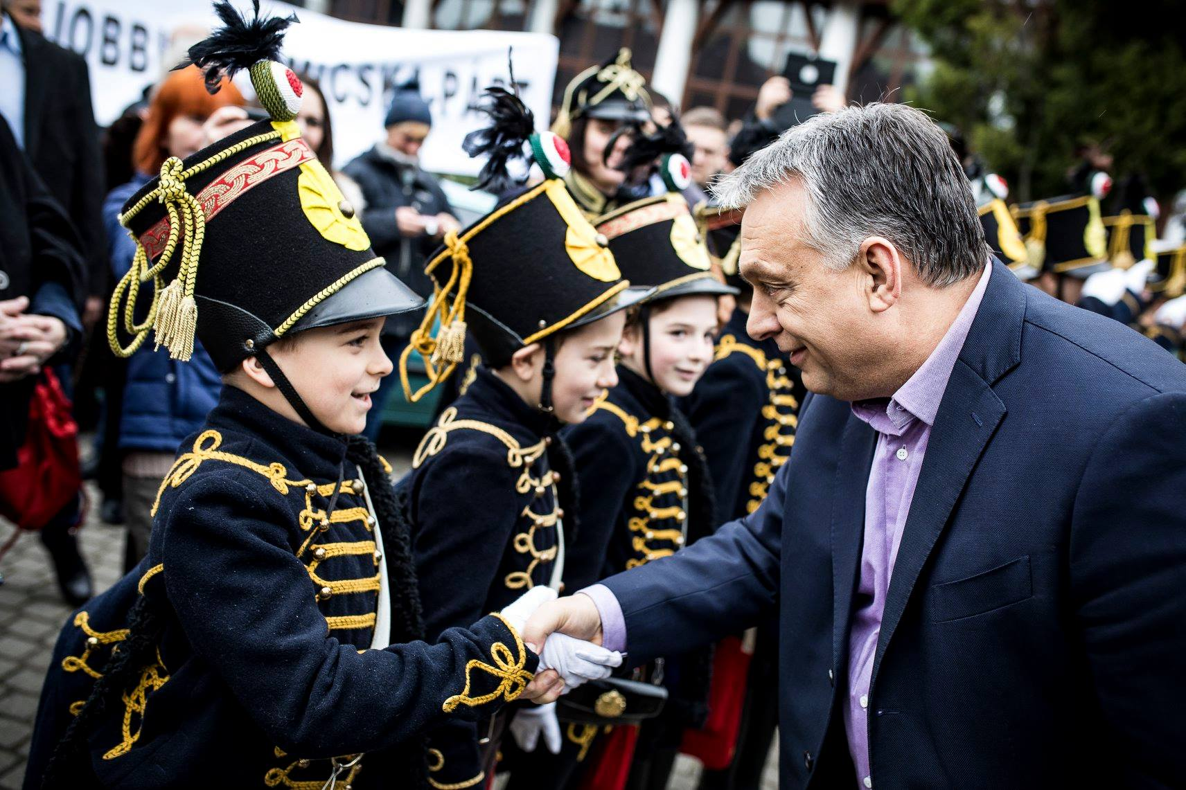 Viktor Orbán fined $1,400 for campaigning among children