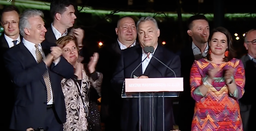 Fidesz has its two-thirds parliamentary majority, they finished tallying the vote