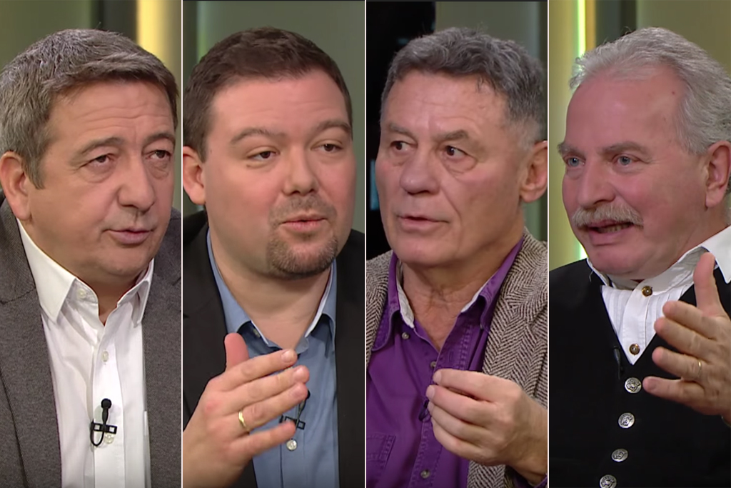 Fidesz publicists devote television program to church bashing