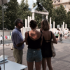 """In Budapest a """"living memorial"""" arises in the shadow of a dead one"""