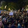 Tens of thousands protest internet tax across Hungary