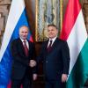 "Vladimir Putin pays ""shameful"" and ""insulting"" visit to Budapest"
