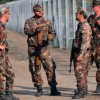 Armed Hungarian soldiers spotted along southern fence