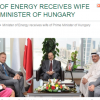 "Bahrain changes account of 2015 meeting with Viktor Orbán's ""wife"""